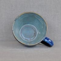 Чашка керамическая с блюдцем 011006A